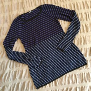 Lightweight Striped Maternity Sweater